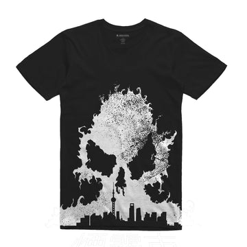 SmogCity - Shanghai Unisex All Over Tee Shirt - Band Merch and On-Demand Designer Shirts
