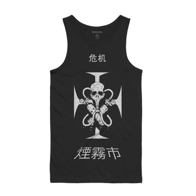 Smog Death Mens Tank Top - Music Merchandise and Designer Shirts
