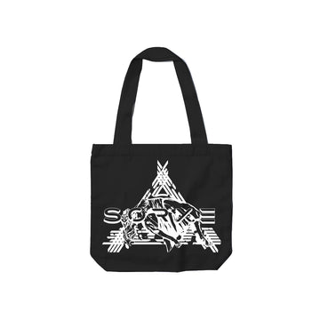 Sorxe - Black Tote Bag - Band Merch and On-Demand Designer Shirts