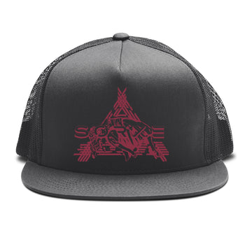 Sorxe - Sorxery Trucker Snapback Hat - Band Merch and On-Demand Designer Shirts