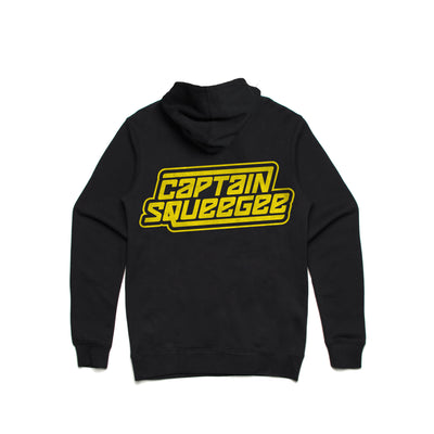 Captain Squeegee - Zip Up Hoodie - Music Merchandise and Designer Shirts