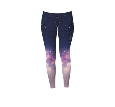 Stars All Over Leggings Front