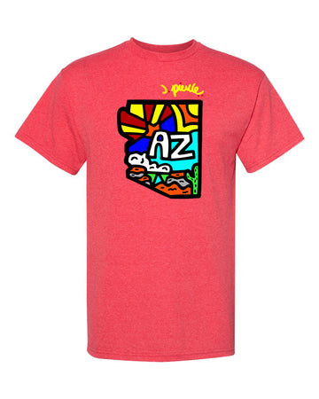 J. Pierce - State of AZ: Unisex Tee Shirt | Arena - Band Merch and On-Demand Designer Shirts