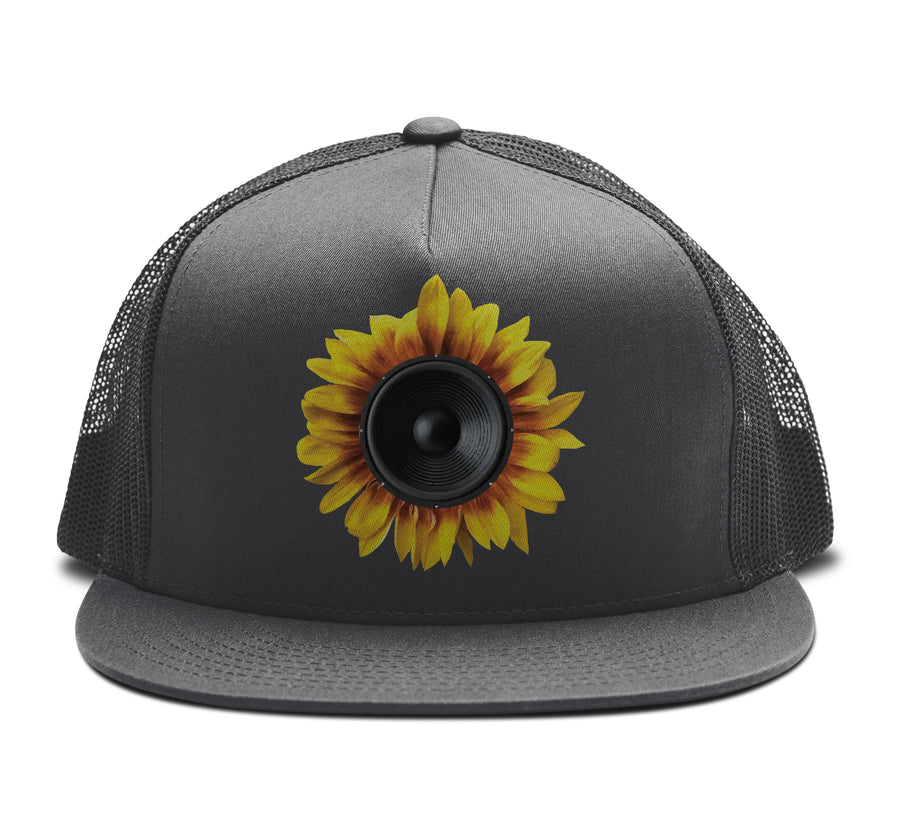Sun Flowoofer - Trucker Snapback Hat - Band Merch and On-Demand Designer Shirts