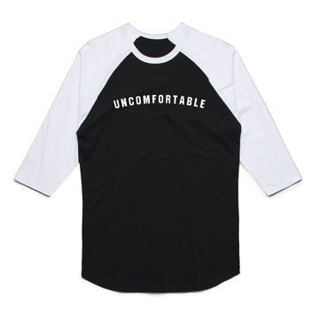 Sydney Sprague - Uncomfortable Unisex Raglan Tee Shirt