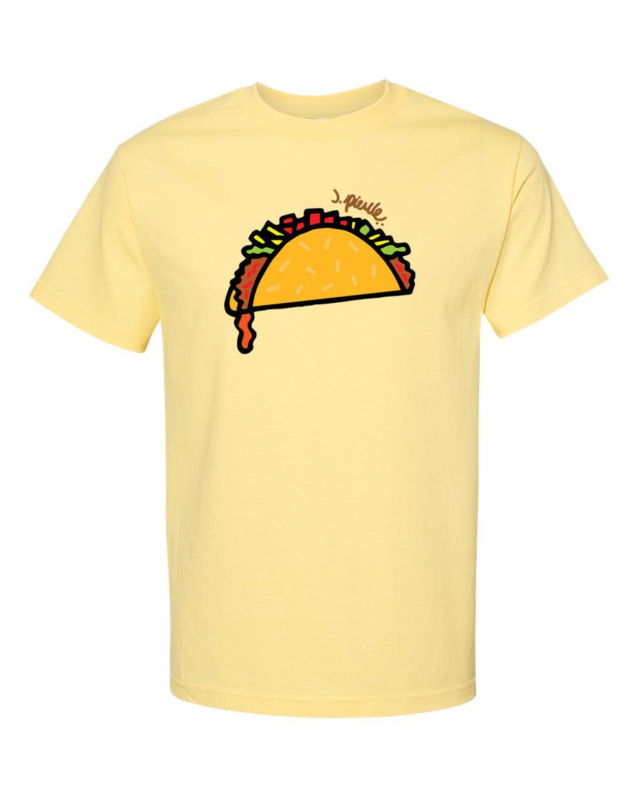 J. Pierce - Taco: Unisex Tee Shirt | Arena - Band Merch and On-Demand Designer Shirts