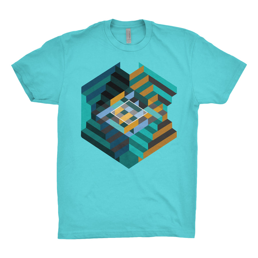 House of Stairs - Unisex Tee Shirt - Band Merch and On-Demand Designer Shirts