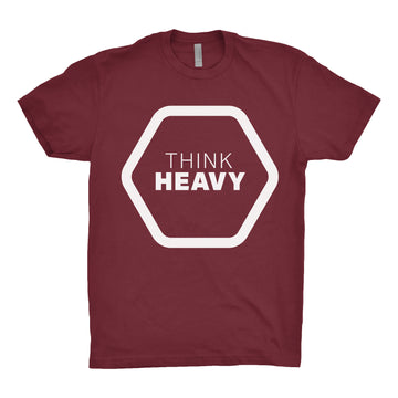 Think Heavy - Unisex Tee Shirt