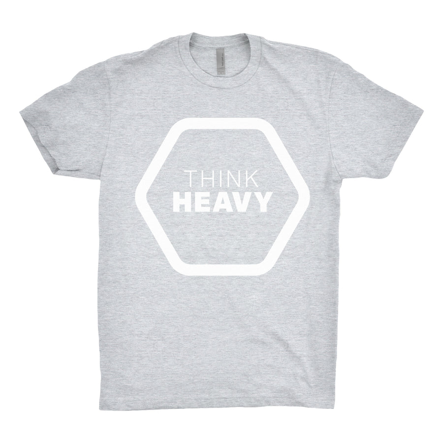 Think Heavy - Unisex Tee Shirt - Band Merch and On-Demand Designer Shirts