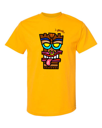 J. Pierce - Tiki Head: Unisex Tee Shirt | Arena - Band Merch and On-Demand Designer Shirts