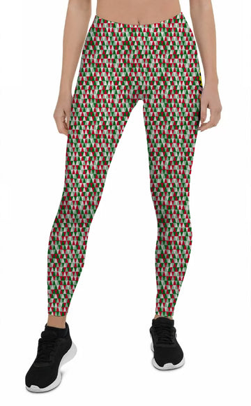 Women's Happy Holidays - All Over Print Leggings | Arena