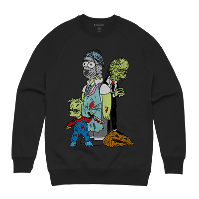 Treehouse of Horror Sweatshirt - Music Merchandise and Designer Shirts