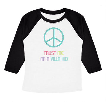 Villa Montessori -  Trust Me Youth Raglan Tee Shirt