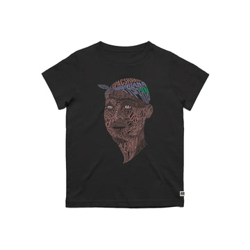 Tupac - Youth Tee Shirt - Band Merch and On-Demand Designer Shirts
