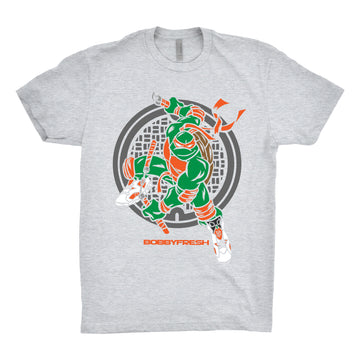 Bobby Fresh - Turtle Power Unisex Tee Shirt