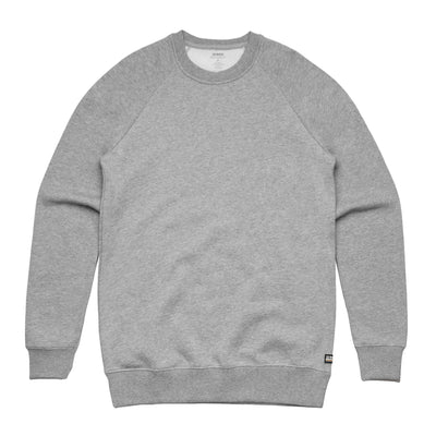 Unisex Heather Grey Heavyweight Pullover Sweatshirt
