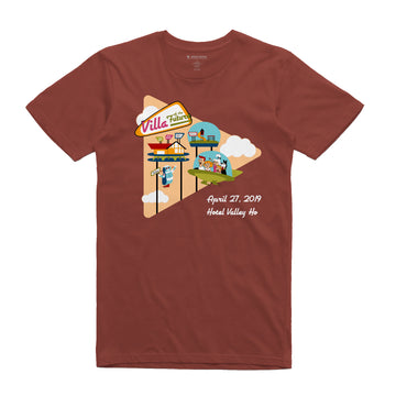 Villa of the Future Rush Unisex Tee Shirt