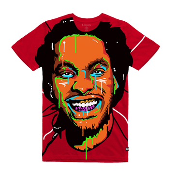 Waka Flocka Flame - Unisex All Over Tee Shirt - Band Merch and On-Demand Designer Shirts