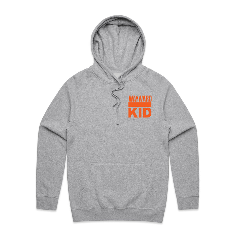 Wayward Kid - Unisex Mid-Weight Pullover Hoodie - Band Merch and On-Demand Designer Shirts
