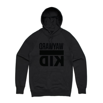 Wayward Kid - Reverse Unisex Heavyweight Pullover Hoodie - Band Merch and On-Demand Designer Shirts