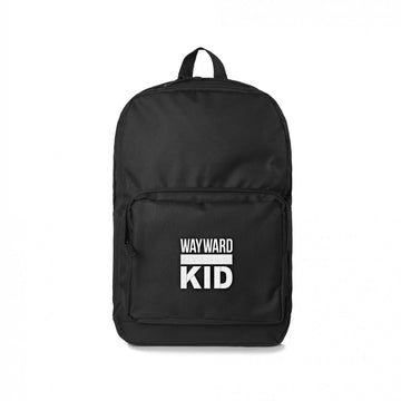 Black Wayward Kid Backpack