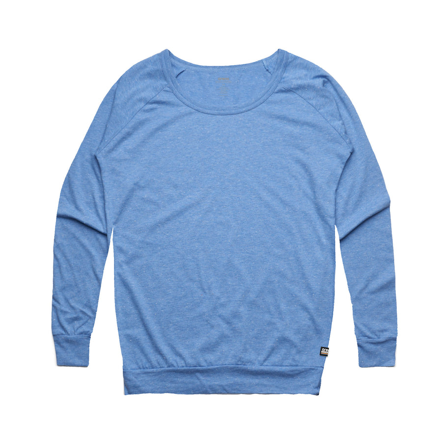 Women's Blue Washed Out Sweatshirt