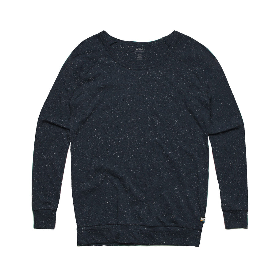 Women's Navy Washed Out Sweatshirt