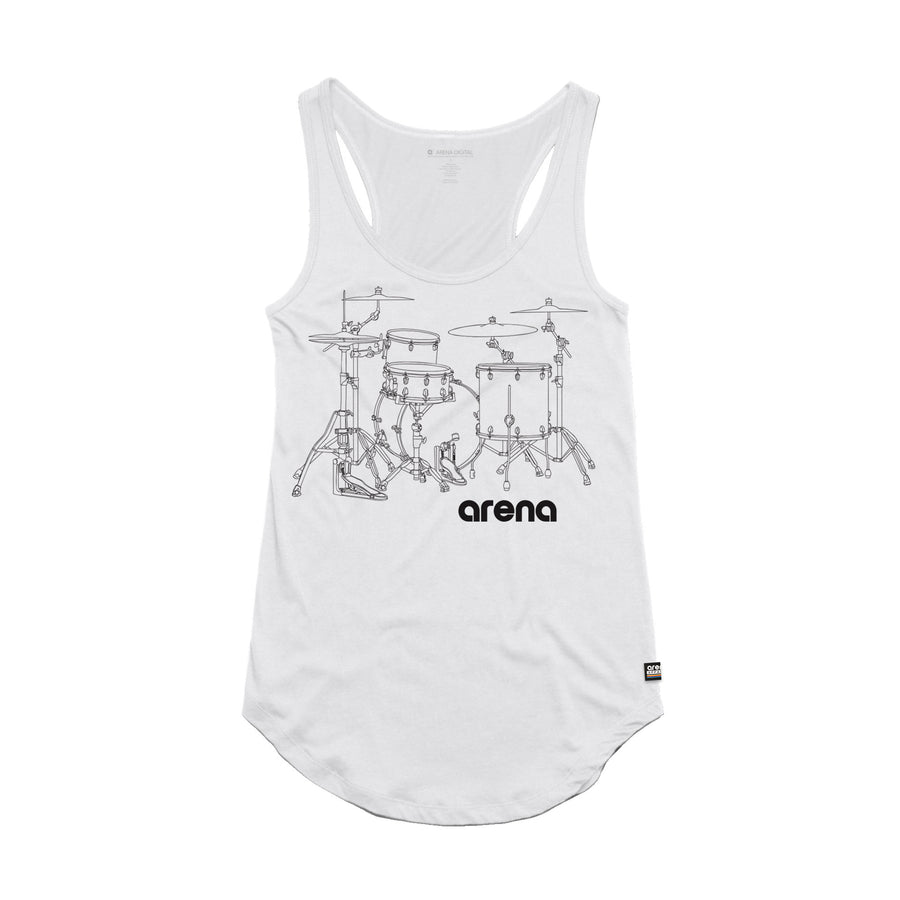 Arena Music | Flam - Womens Tank Top