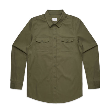 Arena- Blank Men's Military Shirt