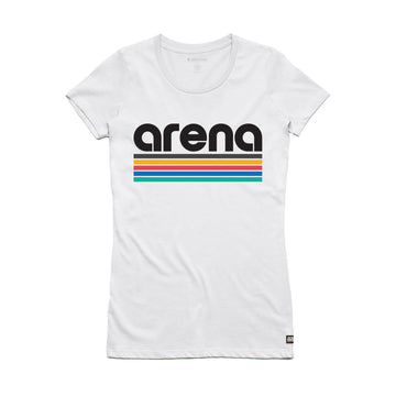 Arena Bars - Women's Slim Fit Tee Shirt - Band Merch and On-Demand Designer Shirts