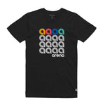 A Squared Black Unisex Tee Shirt