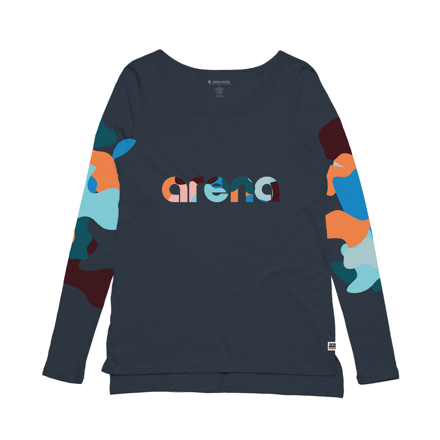 Arena Music I Sincerely - Womens Long Sleeve Tee Shirt