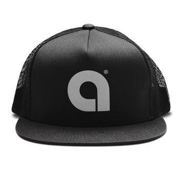 Arena A - Trucker Snapback Hat - Band Merch and On-Demand Designer Shirts