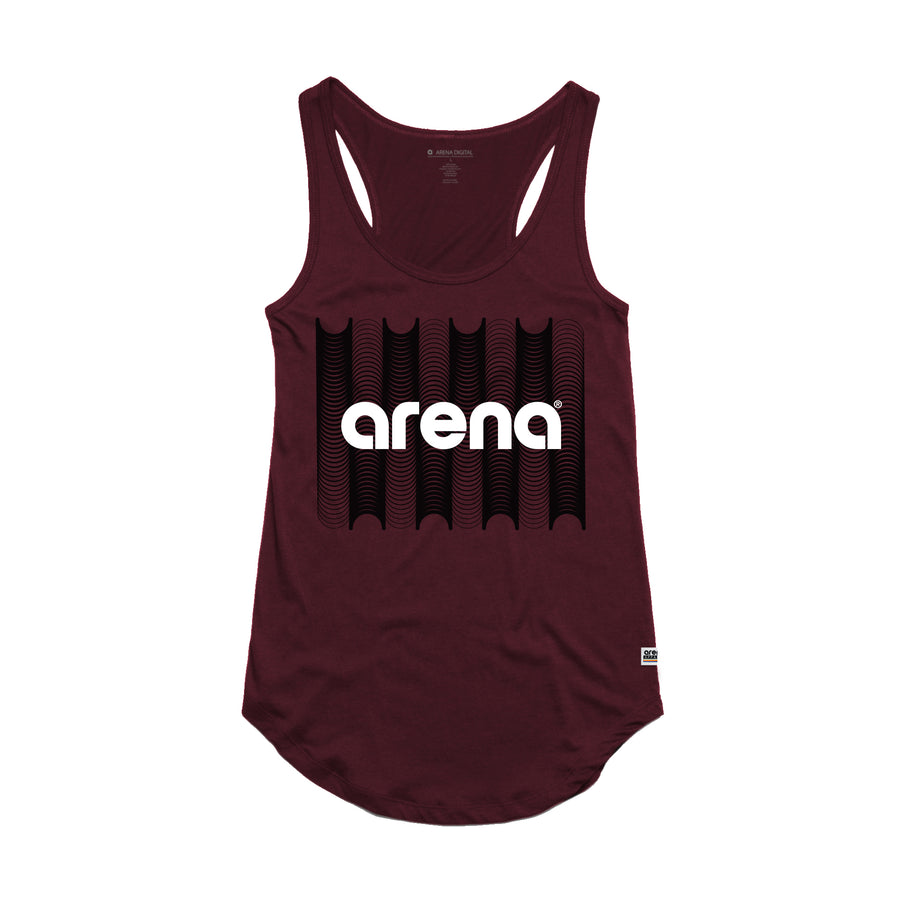 Arena Music | Converge - Burgundy Women's Tank Top