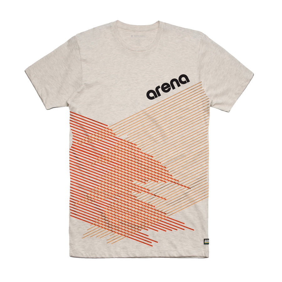 Arena Music | Crossing Lines - Oatmeal Unisex Tee Shirt