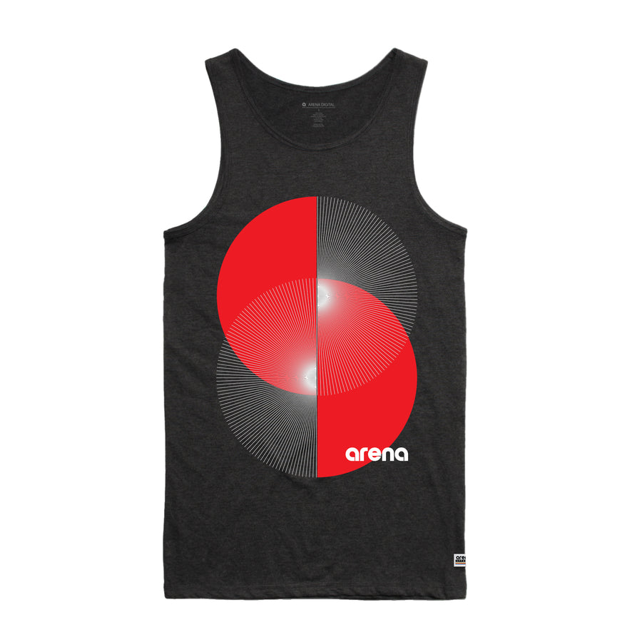 Apex Asphalt Heather Men's Tank Top