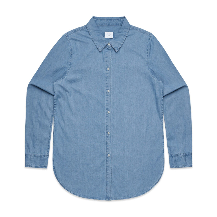 Blank- Woman's Denim Shirt
