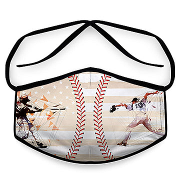 Baseball - Unisex Reusable Face Mask, Face Cover, Festival Cover | Arena