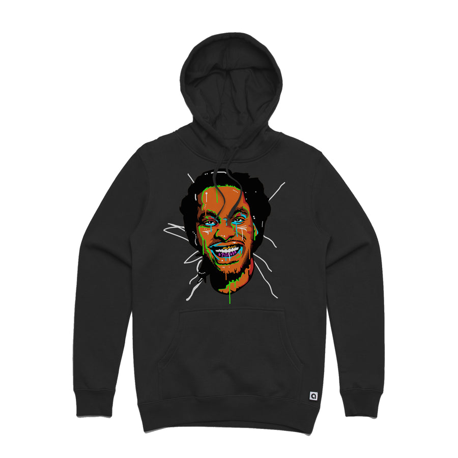 Waka Flocka Flame - Face Men's Pullover Hoodie - Music Merchandise and Designer Shirts