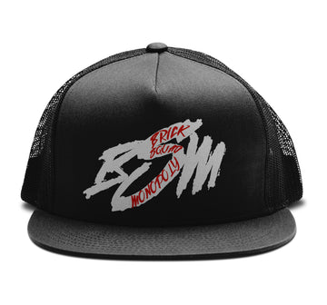 Waka Flocka Flame - Brick Squad Monopoly: Trucker Snapback Hat | Arena - Band Merch and On-Demand Designer Shirts