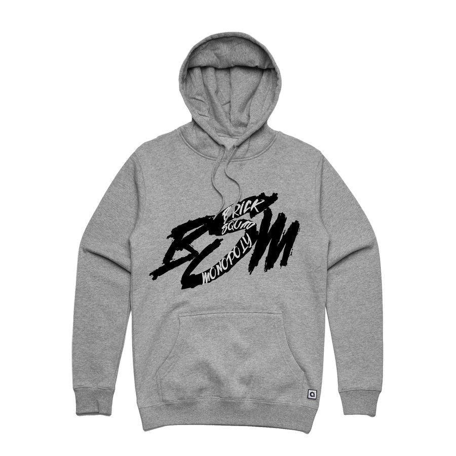 Waka Flocka Flame - Brick Squad Monopoly: Unisex Heavyweight Pullover Hoodie | Arena - Band Merch and On-Demand Designer Shirts