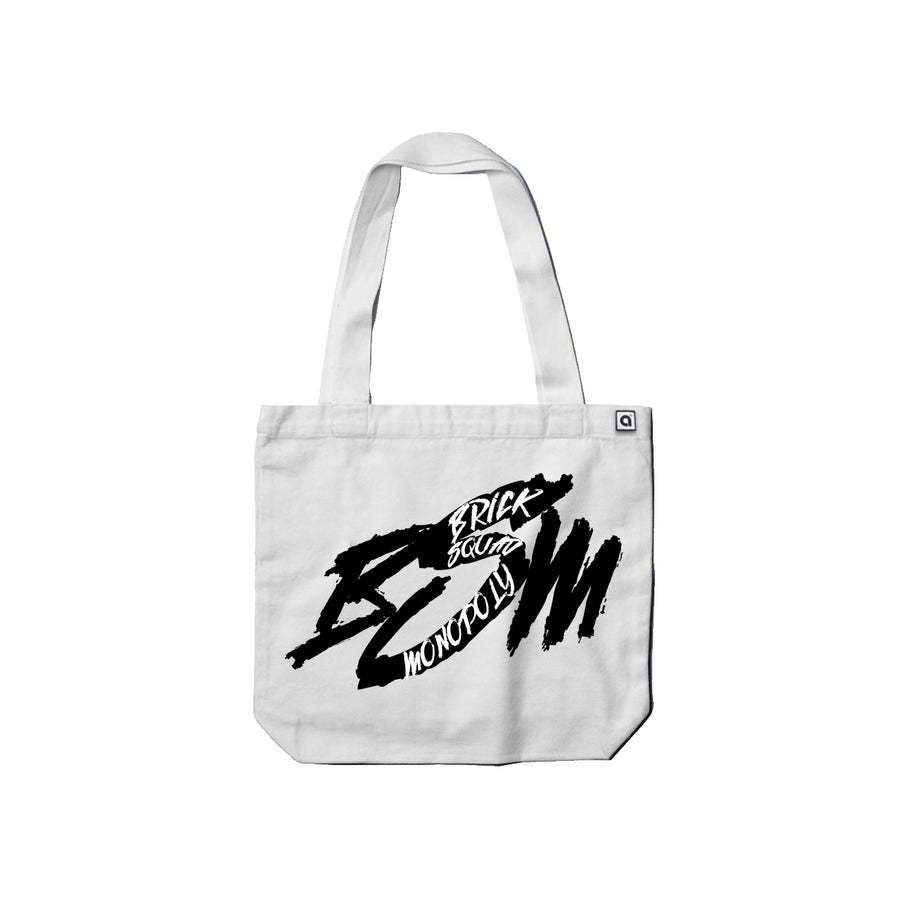 Waka Flocka Flame - Brick Squad Monopoly Carrie Tote Bag - Music Merchandise and Designer Shirts