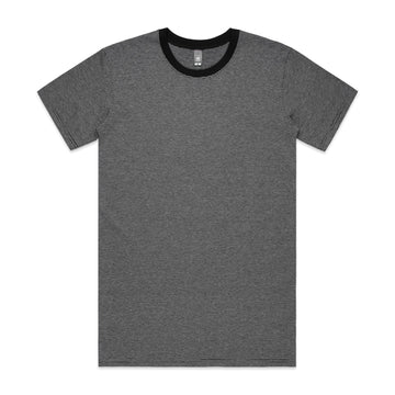 Men's Line Stripe Tee Shirt | Custom Blanks - Band Merch and On-Demand Designer Shirts