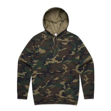 Men's Stencil Camo Hoodie | Custom Blanks - Band Merch and On-Demand Designer Shirts