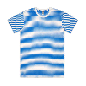 Men's Bowery Stripe Tee Shirt | Custom Blanks - Band Merch and On-Demand Designer Shirts