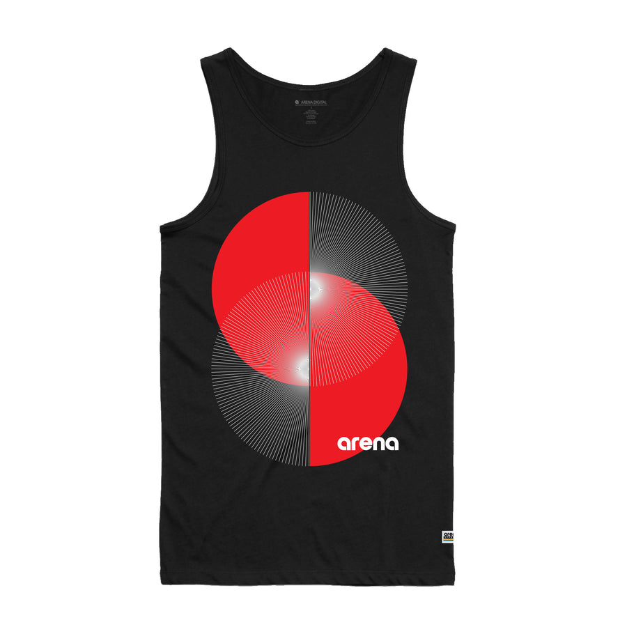 Apex Black Men's Tank Top