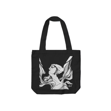 Tina St. Claire - Icarus Tote Bag - Band Merch and On-Demand Designer Shirts