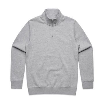Men's Half Zip Crew Pullover | Custom Blanks - Band Merch and On-Demand Designer Shirts