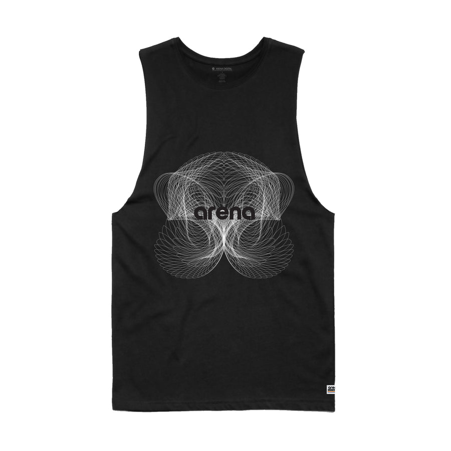 Arena Music | Nova - Mens Sleeveless Tee Shirt