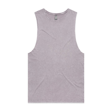 Men's Stone Wash Barnard Tank | Custom Blanks - Band Merch and On-Demand Designer Shirts